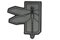 Haley Strategic Dragonfly Disruptive Grey PVC Patch