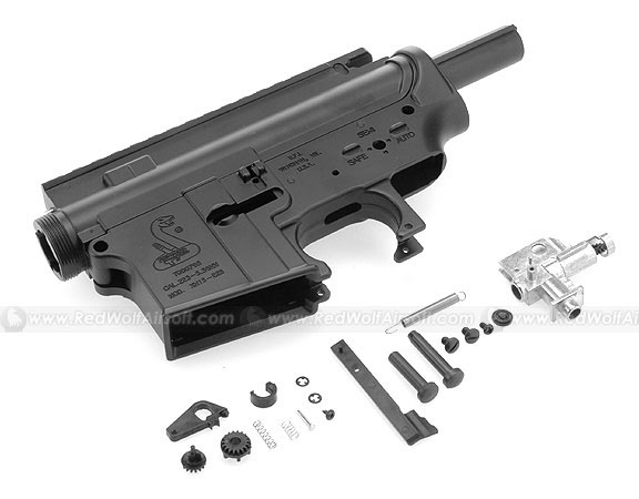 HurricanE Metal Body with Hop-Up Chamber for M4 Series ( Bush Master ) w/ Functional Ejection Port