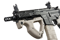 ICS CQR M4 EBB Rifle w/ S3 Electronic Trigger - Tan (Licensed by ASG HERA Arms)