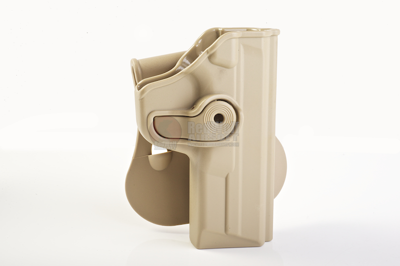 IMI Defense Roto / Retention Paddle Holster for M&P .40/.357 - TAN