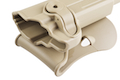 IMI Defense Roto / Retention Paddle Holster for Taurus PT 1911 & PT 1911 w/ Rail - TAN