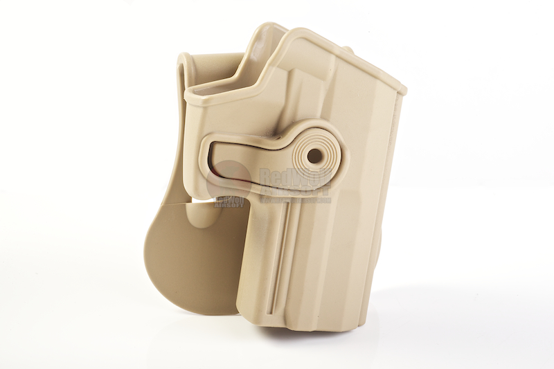 IMI Defense Roto / Retention Paddle Holster for H&K USP Compact - TAN