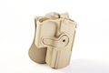 IMI Defense Roto / Retention Paddle Holster for Walther PPQ - TAN