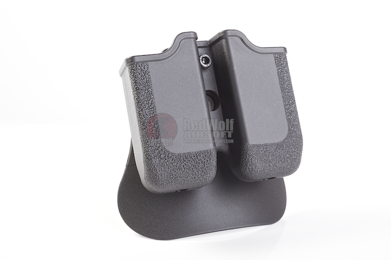 IMI Defense MP05 Double Magazine Pouch for USP, H&K 45, 1911 Double Stack Magazine