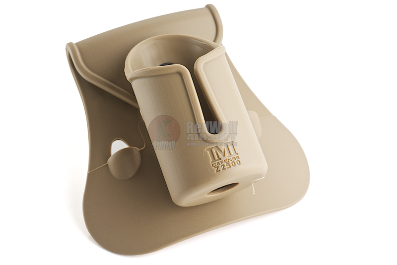 IMI Defense Polymer Pepperspray Pouch - TAN <font color=yellow>(Clearance)</font>