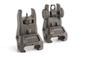 IMI Defense TFS / TRS Polymer Flip Up Sight Set - OD