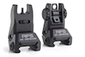 IMI Defense AFS Aluminum Flip Up Sight Set - BK