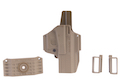 IMI Defense Z8017 MORF X3 Polymer Holster for Glock 17 - Tan