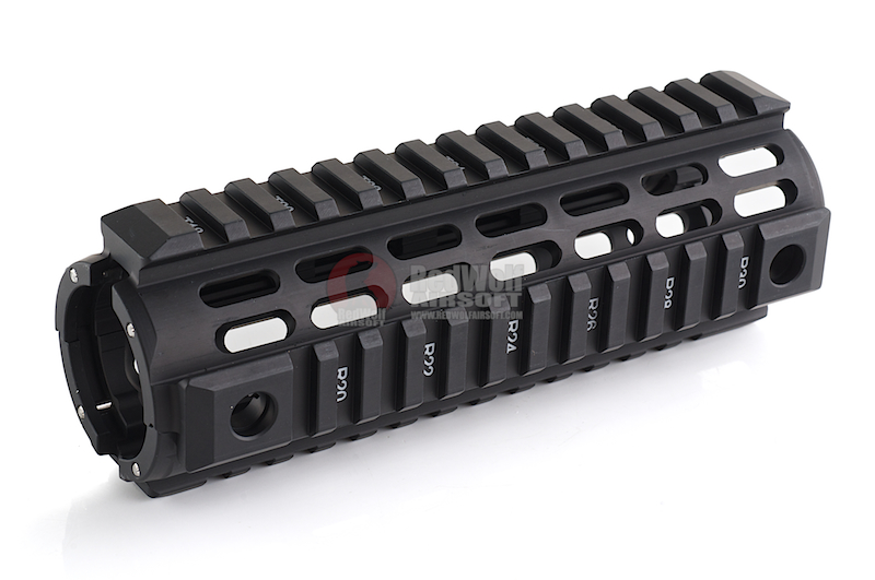 IMI Defense Aluminium Quad Rail Carbine Drop In for M4 / M16 Series - BK <font color=yellow>(Clearance)</font>