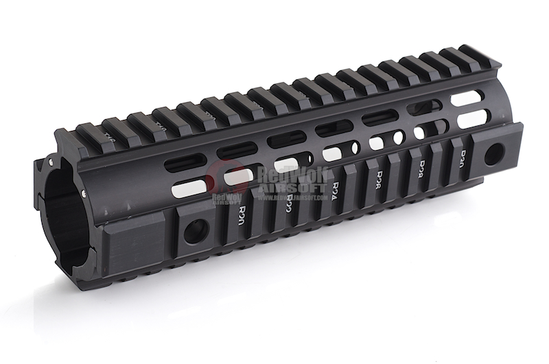 IMI Defense Aluminum Quad Rail Carbine Freefloat for M4 / M16 Series - BK <font color=yellow>(Clearance)</font>