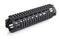 IMI Defense Aluminium Quad Rail Mid Length Drop In for M4 / M16 Series - BK <font color=yellow>(Clearance)</font>