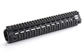 IMI Defense Aluminium Quad Rail Rifle Length Drop In for M4 / M16 Series - BK <font color=yellow>(Clearance)</font>