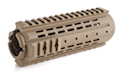 IMI Defense MRS-C Polymer Modular Rail System Carbine Length for M4 / M16 Series - TAN