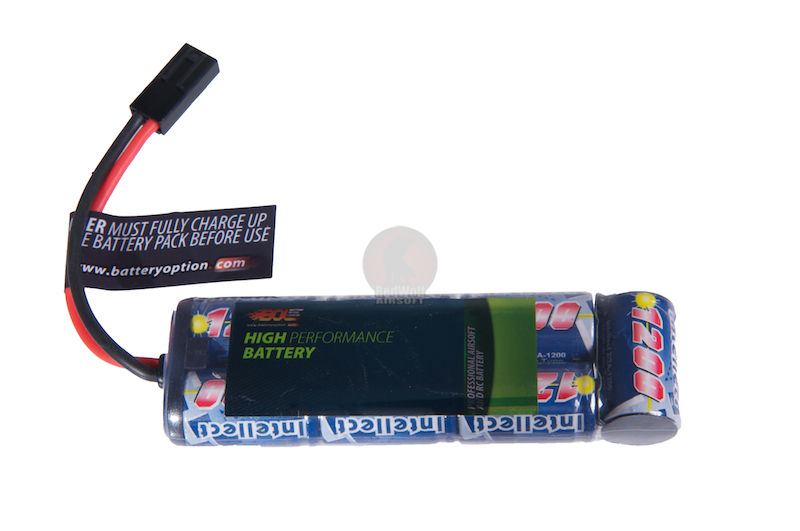Intellect 8.4v 1200mah Battery (NiMH) - Small Mini Type <font color=red>(Clearance)</font>