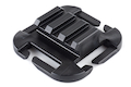 ITW Nexus Advanced QASM Picatinny-Ramp Rail Mount - Black