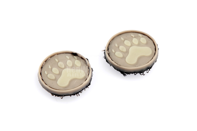 James Velcro Ranger Eyes (Type E / Paw Print / Sand)