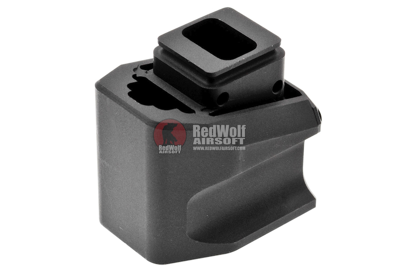 JDG Floyds Licensed Magazine Extension Pad for Tokyo Marui M&P9 / M&P9L GBB - Black