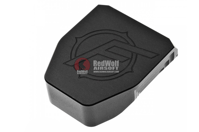 JDG Floyds Licensed Magazine Base Plate for Tokyo Marui M&P9 / M&P9L GBB ( Real Type Style ) Black - Limited Edition