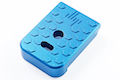 JL Progression Aluminum MagShoe Base Pad for Tokyo Marui G Series - Blue