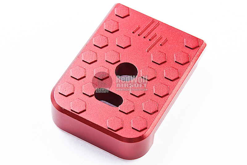 JL Progression Aluminum MagShoe Base Pad for Tokyo Marui G Series - Red