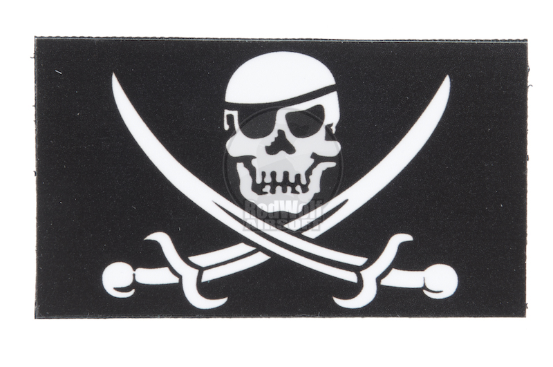 King Arms Seal 2 Patch Black