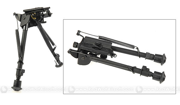 King Arms Spring Return Bipod (Long)