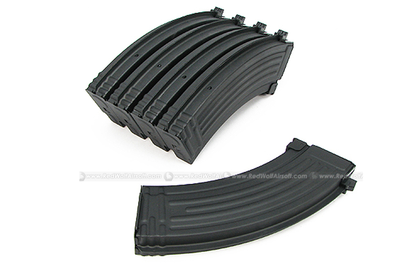 King Arms 70rds Mag for Marui AK Series Box Set 5pcs