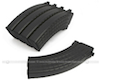 King Arms 70rds Waffle Mag for Marui AK Series Box Set 5pcs (Black)