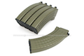 King Arms 70rds Waffle Mag for Marui AK Series Box Set 5pcs (Dark Earth)
