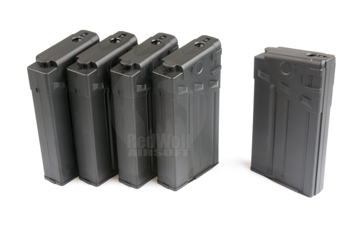 King Arms 110rds Magazine for Tokyo Marui G3 Series (5pcs Box Set)