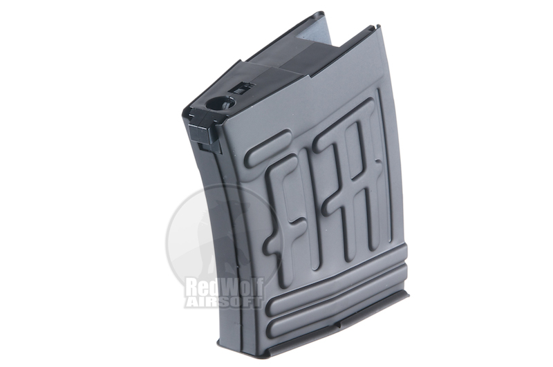 King Arms 50rds Magazine for King Arms Kalashnikov Sniper Series (Air Cocking Version)