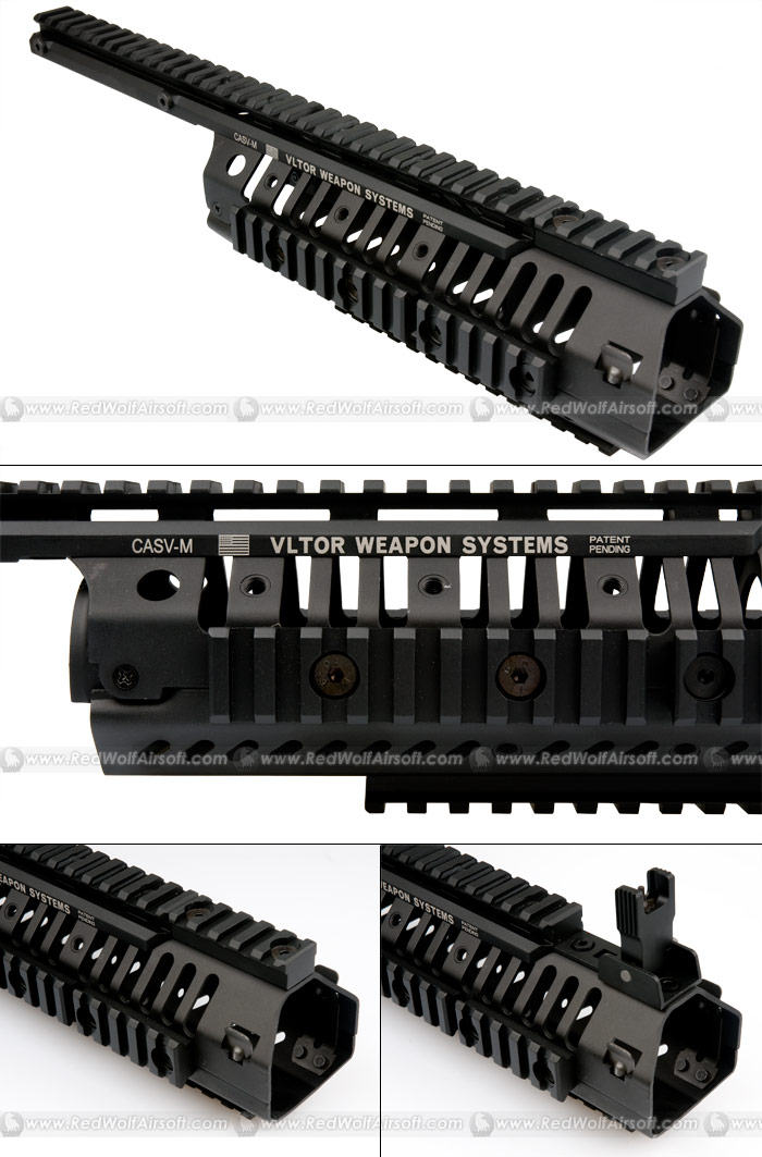 King Arms CASV-M Handguard Set (Black)