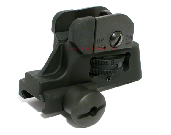 King Arms Detachable Rear Sight for M4 Series