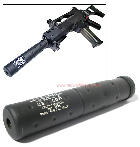 King Arms Socom MK23 Silencer (CCW)