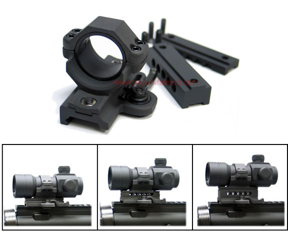 King Arms Throw Lever Ring Set for 20/ 30mm Scope