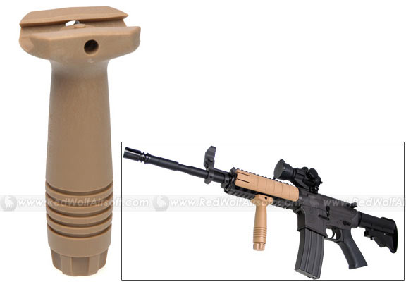 King Arms Vertical Force Grip (Tan)