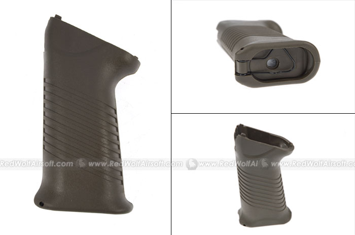 King Arms AK SAW Style Pistol Grip (OD)