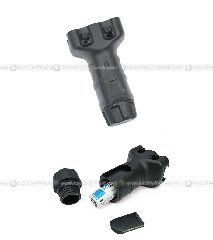 King Arms Vertical Fore Grip Shorty (Black)