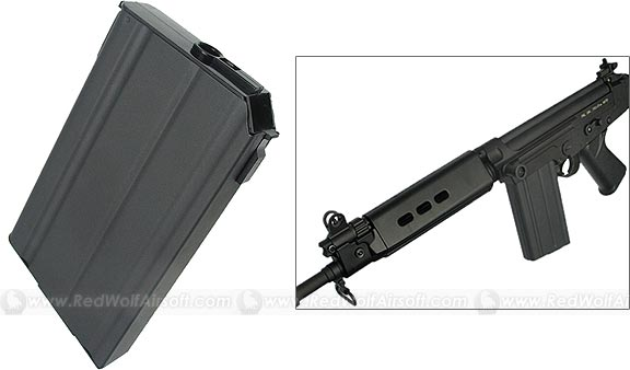 King Arms 90 rds Magazine for KA FAL
