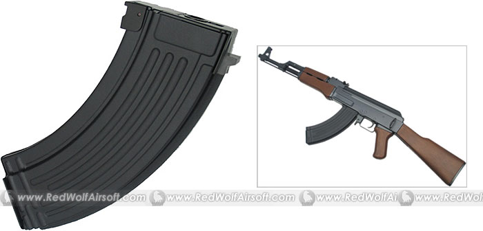 King Arms 600rds AK47 Mag for Marui AK47