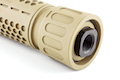 Knight's Armament Airsoft (Madbull) 556 QDC Airsoft Suppressor w/ Quick Detach Function (14mm CCW) - TAN