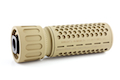 Knight's Armament Airsoft 556 QDC / CQB Airsoft Suppressor w/ Quick Detach Function (14mm CCW) - TAN