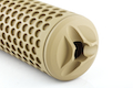 Knight's Armament Airsoft (Madbull) 556 QDC / CQB Airsoft Suppressor w/ Quick Detach Function (14mm CW) - TAN