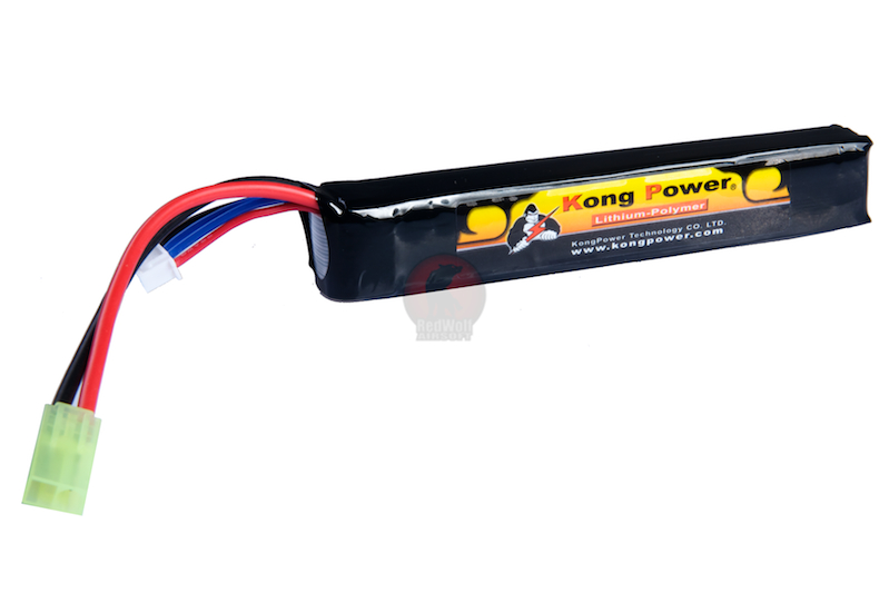 Kong Power Lithium-Ion 1300 mAh 20C continuous 11.1v - Mini Tamiya <font color=yellow>(Clearance)</font>