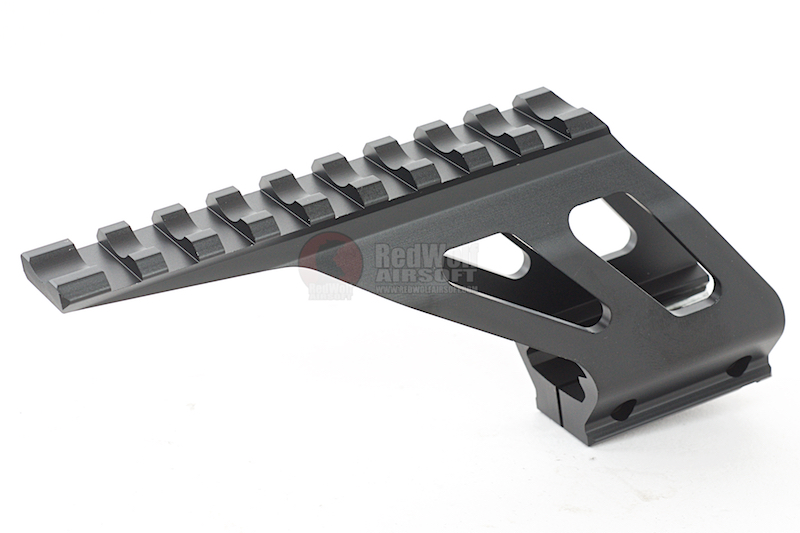 KJ Works Pistol Mount for KJ Works KP-05 / KP-06 / KP-07 / KP-08 & CZ SP-01 Shadow - Black