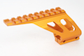 KJ Works Pistol Mount for KJ Works KP-05 / KP-06 / KP-07 / KP-08 & CZ SP-01 Shadow - Orange
