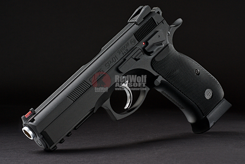 KJ Works CZ SP-01 Shadow (ASG Licensed) - CO2 Version
