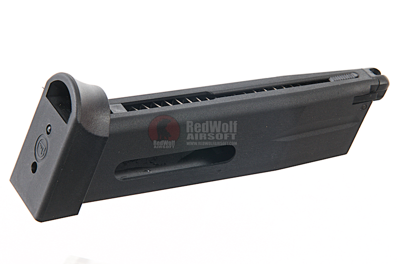 KJ Works 26 rds Shadow 1 Spare Co2 Magazine for KJ CZ SP-01 / Shadow 1 / Shadow 2 (ASG Licensed)