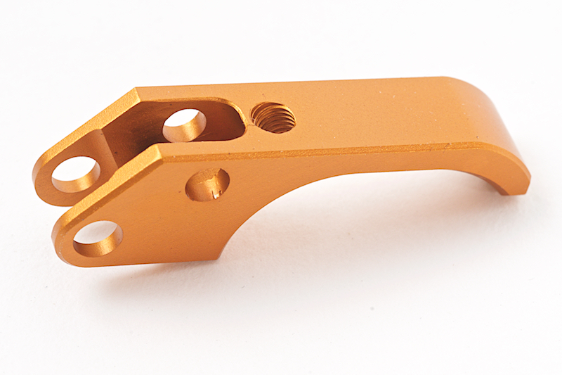 KJ Works ALU SAO Trigger for CZ SP-01 Shadow - Orange