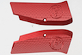 KJ Works CZ Logo Aluminium Hand Grip for CZ SP-01 Shadow - Red